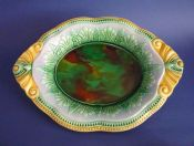 Beautiful Large Antique Majolica Serving Dish or Platter c1880